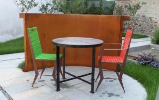 realizzazione sedie ferro 1