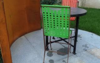 realizzazione sedie ferro 11