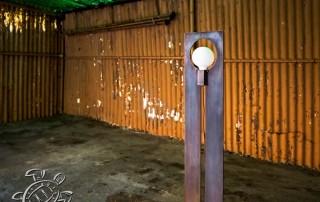 realizzazioni metalliche lampada dina 2