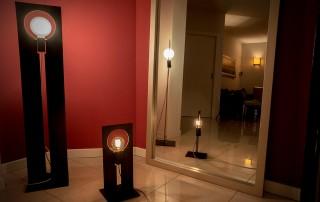 realizzazioni metalliche lampada dina 5
