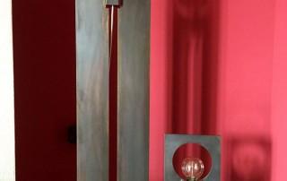 realizzazioni metalliche lampada dina 6